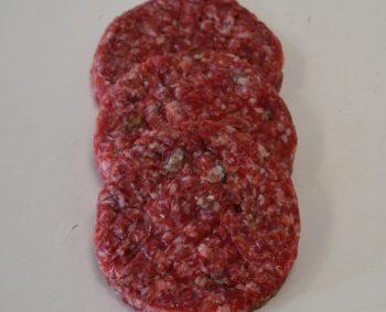 Vier hamburgers voor €4,50