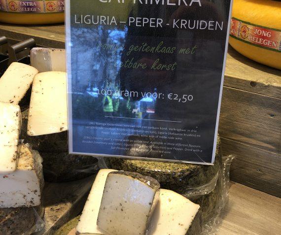 Nieuw!!! Zachte geiten kaas met kruiden