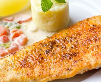 Gemarineerde visfilet