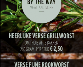 Verse grillworst en fijne rookworst
