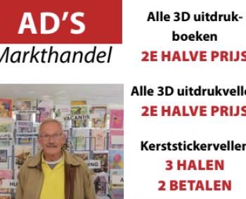 In de aanbieding: 3D uitdrukboeken en vellen!