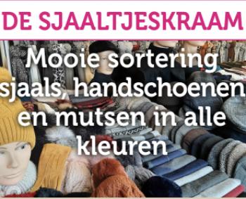 Sjaals, handschoenen en mutsen!