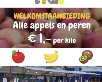 Faapies fruit, de nieuwe groenteboer op de markt Houten!😋🍏🍓🥦🥕