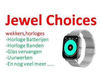Horloge batterij vervangen €6,-