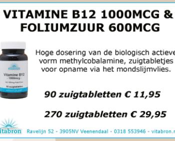Vitamine B12 en Foliumzuur